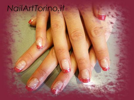 Nail Art Ciclamino