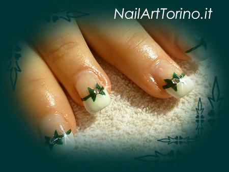 Nail Art Fiocchi Dettaglio