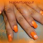 Nail Art Fluo Arancione