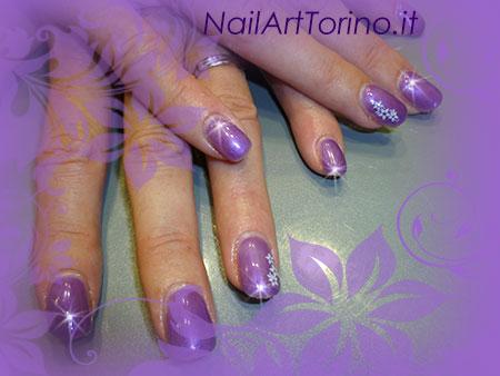 Nail Art Lilla Perla