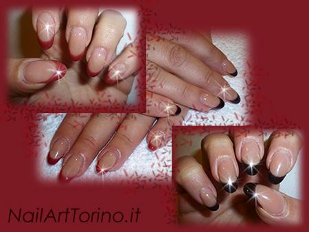Gel Termico marrone-rosso french mandorla