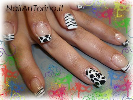 unghie per carnevale muccate