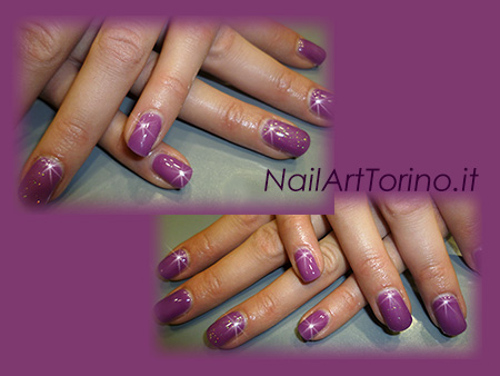 Nail-Art-total-color-lilla-glitter