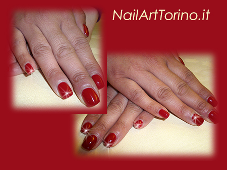 Nail-Art-total-color-rosso