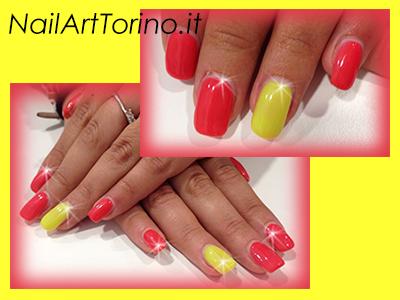 Unghie-estate-2014-Corallo-giallo-fluo
