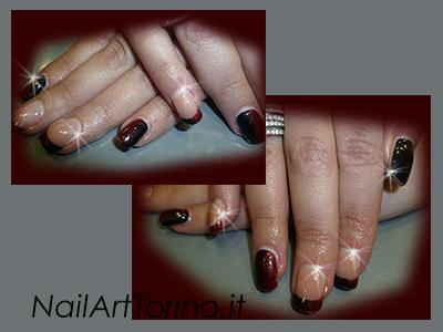 ricostruzione-unghie-in-gel-torino-rosso-nero