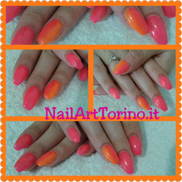 nail-art-estate-2015-fluo-fucsia-+-arancio