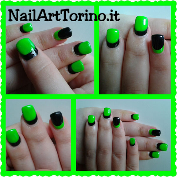 nail-art-estate-2015-fluo-verde-nero