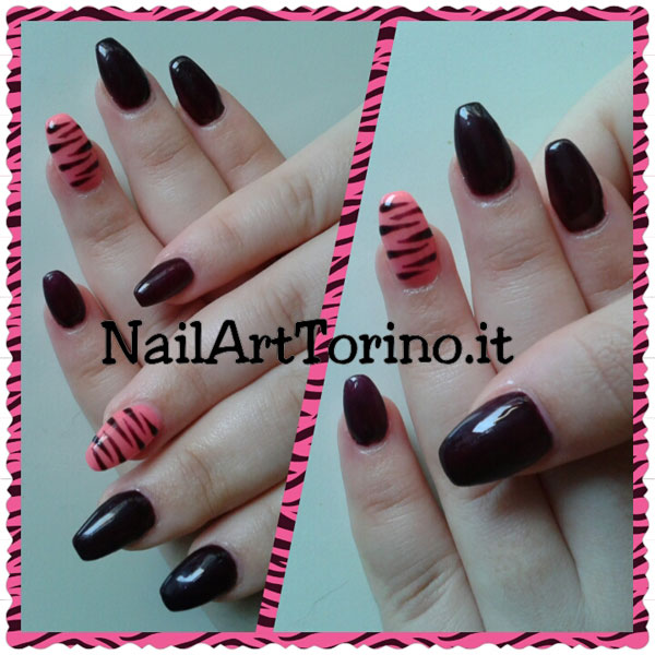 nail-art-estate-2015-zebrato-rosa